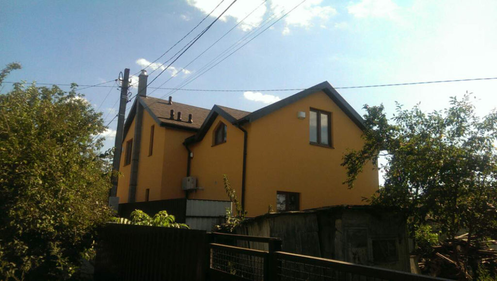 Жилой частный дом из сип панелей «Вердеп» 141.72 м2 - фото 1